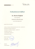 Fortbildung ästheteische Mesotherapie Institute BCN